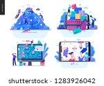 business series set  color 2... | Shutterstock .eps vector #1283926042