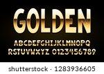 vector of modern font and...   Shutterstock .eps vector #1283936605