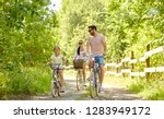 family  leisure and people... | Shutterstock . vector #1283949172