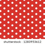 red background polka dot.... | Shutterstock .eps vector #1283953612