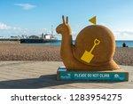 brighton  england 18 october... | Shutterstock . vector #1283954275