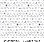 seamless pattern with balls | Shutterstock . vector #1283957515