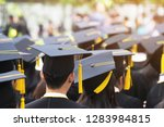 group of graduates during... | Shutterstock . vector #1283984815
