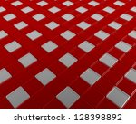 relief mosaic with transparent... | Shutterstock . vector #128398892