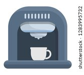 coffee maker device icon.... | Shutterstock .eps vector #1283995732