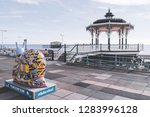 brighton  england 18 october... | Shutterstock . vector #1283996128