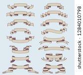ribbon banner set | Shutterstock . vector #1284010798
