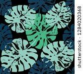 vector beach seamless pattern... | Shutterstock .eps vector #1284020368