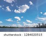 beautiful city of kiev in the... | Shutterstock . vector #1284020515