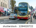 brighton  england 1 october... | Shutterstock . vector #1284020722