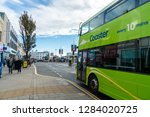 brighton  england 1 october... | Shutterstock . vector #1284020725