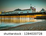 brighton  england 19 october... | Shutterstock . vector #1284020728
