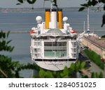 odessa   ukraine   june 09 2010 ... | Shutterstock . vector #1284051025