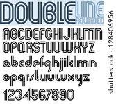 Double Line Retro Style...
