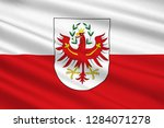 flag of tyrol is a federal... | Shutterstock . vector #1284071278