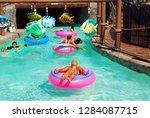 seaside heights  nj  usa august ...   Shutterstock . vector #1284087715