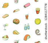 various images set. background... | Shutterstock .eps vector #1284117778