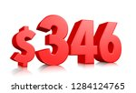 346  three hundred and forty... | Shutterstock . vector #1284124765
