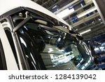 production of freight transport.... | Shutterstock . vector #1284139042