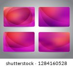 gift cards or discount cards or ... | Shutterstock .eps vector #1284160528