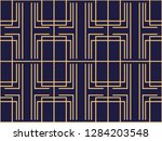art deco seamless pattern.... | Shutterstock .eps vector #1284203548
