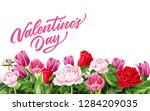 valentines day invitation ... | Shutterstock .eps vector #1284209035