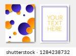 modern trendy flyer concept...   Shutterstock .eps vector #1284238732