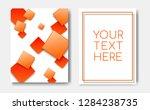 modern trendy banner concept...   Shutterstock .eps vector #1284238735