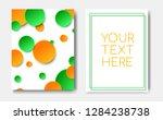 modern trendy flyer concept...   Shutterstock .eps vector #1284238738