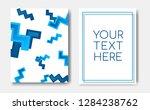 modern trendy poster concept...   Shutterstock .eps vector #1284238762