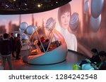 las vegas  nv  usa  jan. 8 ... | Shutterstock . vector #1284242548