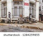 istanbul  turkey   january 7 ...   Shutterstock . vector #1284259855