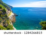 aerial top panoramic view of... | Shutterstock . vector #1284266815