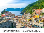 Vernazza Village With Typical...