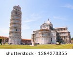 the cathedral of pisa and the... | Shutterstock . vector #1284273355
