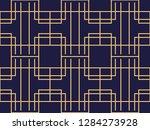 art deco seamless pattern.... | Shutterstock .eps vector #1284273928