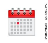 calendar icon with month time...