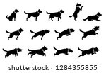 set of icons representing... | Shutterstock .eps vector #1284355855