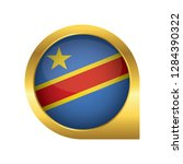 flag of democratic republic of... | Shutterstock .eps vector #1284390322