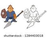 vector illustration of a... | Shutterstock .eps vector #1284403018