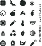 solid black vector icon set  ... | Shutterstock .eps vector #1284416338