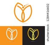 life coaching logo design ... | Shutterstock .eps vector #1284416602