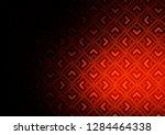 dark orange vector texture with ... | Shutterstock .eps vector #1284464338
