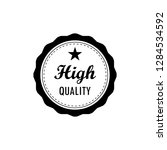 best   high quality  genuine... | Shutterstock .eps vector #1284534592