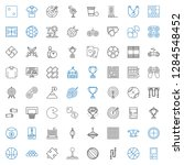 game icons set. collection of... | Shutterstock .eps vector #1284548452