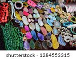 female jewelry made of stones | Shutterstock . vector #1284553315