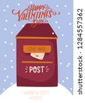beautiful love card for... | Shutterstock .eps vector #1284557362