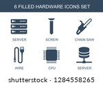hardware icons. trendy 6... | Shutterstock .eps vector #1284558265