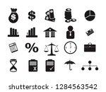money financial marketing law... | Shutterstock .eps vector #1284563542