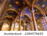 interior view of the church of... | Shutterstock . vector #1284570655